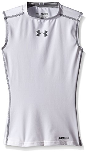 Under Armour Mens Heatgear Sonic Compression Sleeveless T-Shirt
