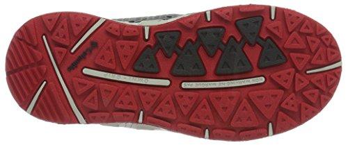 Columbia Childrens Drainmaker Iii, Zapatillas de Deporte Exterior para Niños Gris (Grey Ash/mountain Red 021)