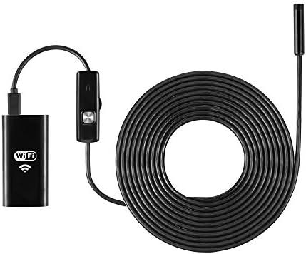 Waterproof 6LED WiFI Borescope Inspection Endoscope Snake Tube Camera For iPhone