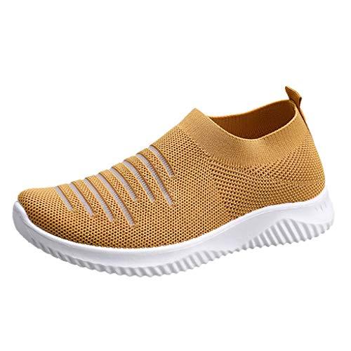 KERULA Sneaker Damen Atmungsaktiv Mesh rutschfeste Sportschuhe Wanderschuhe Laufschuhe Turnschuhe Hallenschuhe Joggingschuhe Freizeitschuhe Walkingschuhe Fitness Running Schuhe für Outdoor