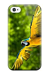Elliot D. Stewart's Shop 9860610K13510828 Tpu Phone Case With Fashionable Look For Iphone 4/4s - Parrot