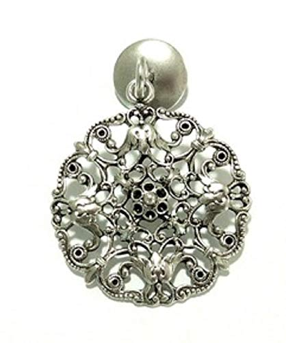 ROUND LACE ROLLER SHADE PULL, ANTIQUE SILVER FINISH, FREE SHIPPING**