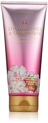 Victoria's Secret Strawberries And Champagne Hand & Body Cream 200Ml ()
