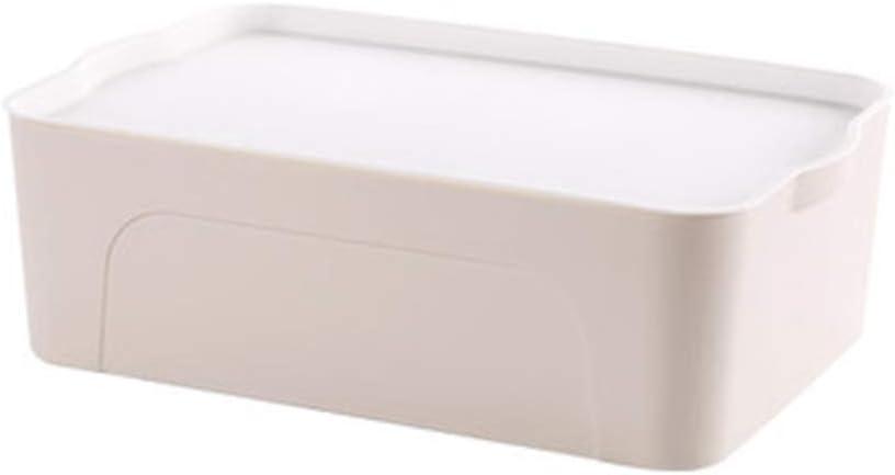 OHGQY Espesar Caja De Almacenamiento De Plástico Caja De Almacenamiento De Ropa Grande Cubierto Armario Cajón Caja De Almacenamiento Cama Inferior Caja De Almacenamiento De Ropa Caja de almacenaje: Amazon.es: Hogar