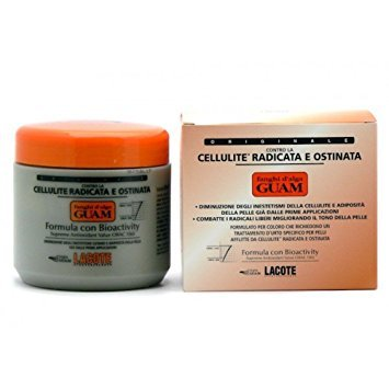 GUAM Mud Seaweed Cellulite ROOTED AND OBSTINATE 500g formula bioactivity adiposity by Guam