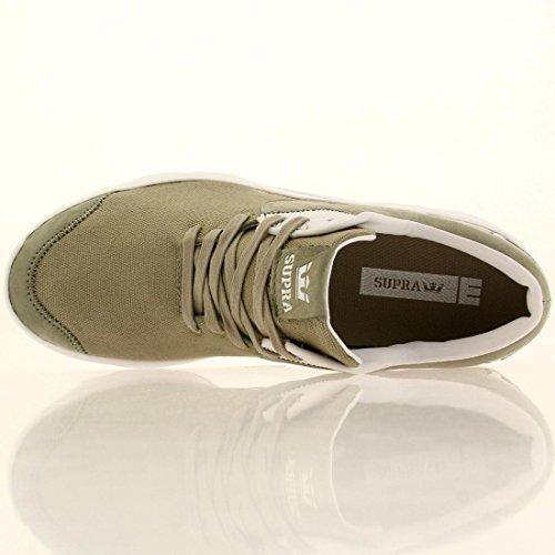 Supra Dames / Heren Noiz Sneaker Laurier Eiken / Wit