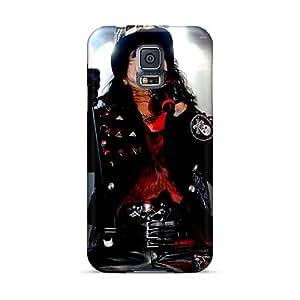 Protector Hard Cell-phone Case For Samsung Galaxy S5 (MKV15314cJjp) Unique Design High Resolution Alice Cooper Band Image