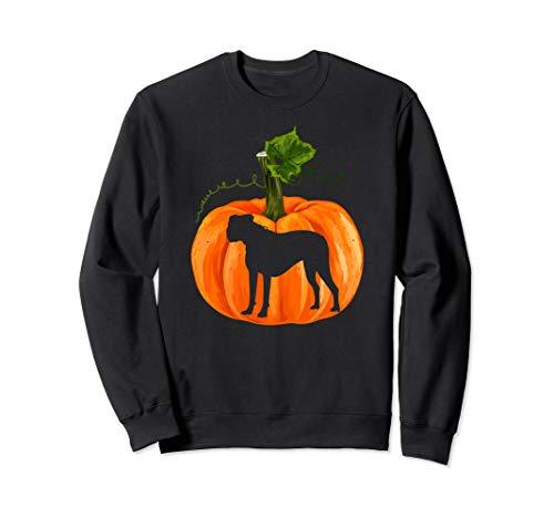 Happy Halloween Boxer Dog T-Shirt Gifts Funny Dog Christmas Sweatshirt]()