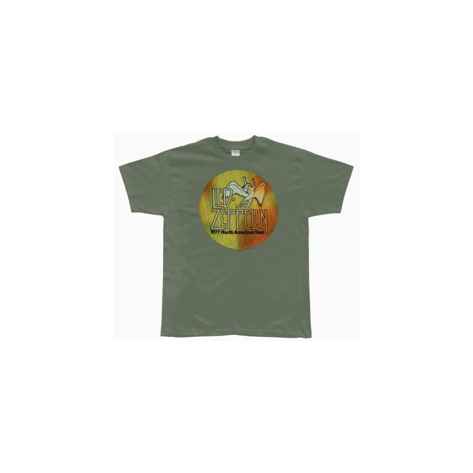 Led Zeppelin   US 77 Logo Soft T Shirt