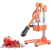 CO-Z Commercial Grade Citrus Juicer Hand Press Manual Fruit Juicer Juice Squeezer Citrus Orange Lemon Pomegranate (Orange)