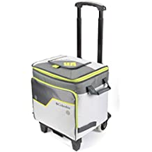 Columbia Crater Peak Rolling Thermal Pack Cooler with A.T. Cart, 80 lbs. Capacity