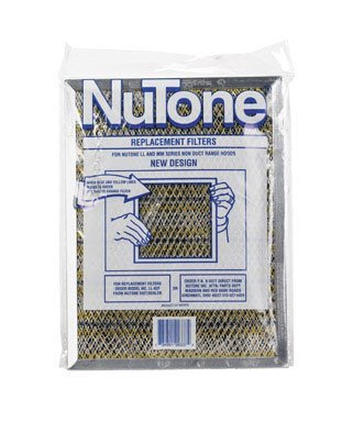 "Broan/NuTone Replacement Range Hood Filter (LL62F) 8-7/16"" X 11-1/4"" X 3/8"""