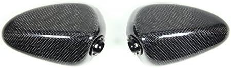 マジカルレーシング(MAGICAL RACING) NK1ミラー タイプ2 ヘッド(平織りカーボン) ブラック・スーパーロングエルボ 115mm 正8mm/逆8mm A01-CANK-S1812