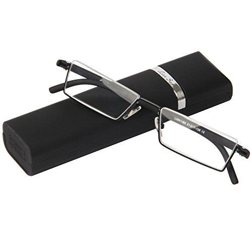 AEC designer high quality lightweight portable reading glasses eyeglasses with flip case (+2.50) (B014A1NBF0) Amazon Price History, Amazon Price Tracker