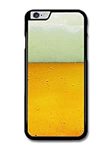 "AMAF ? Accessories Beer with Foam and Bubbles Alcohol Drink Pattern case for iPhone 6 Plus (5.5"")"