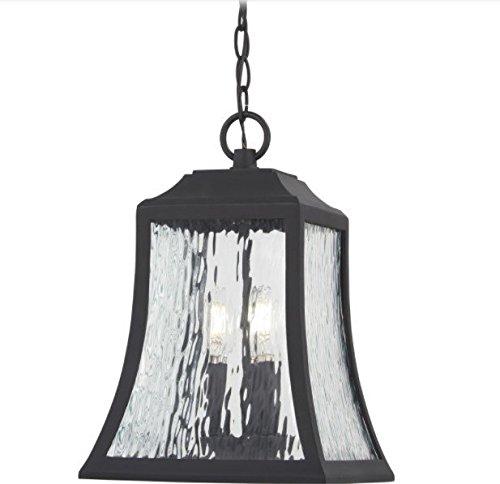 Minka Lavery Outdoor Pendant Lighting 72464-66 Cassidy Park, 3-Light 180 Watts, Black