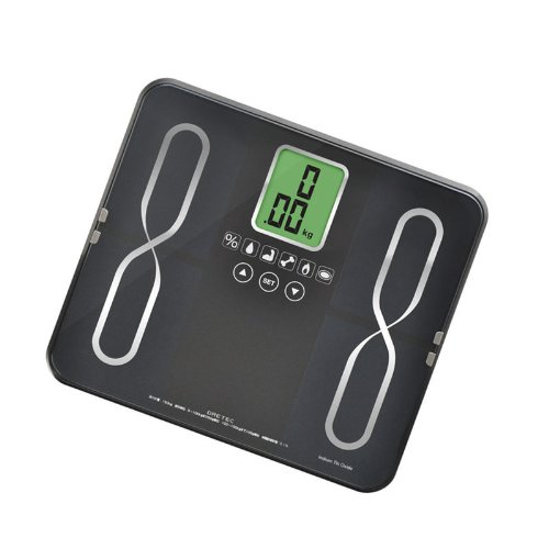DRETEC Weight body composition meter [INFY] BS-229BK(Black) by N/A by Unknown