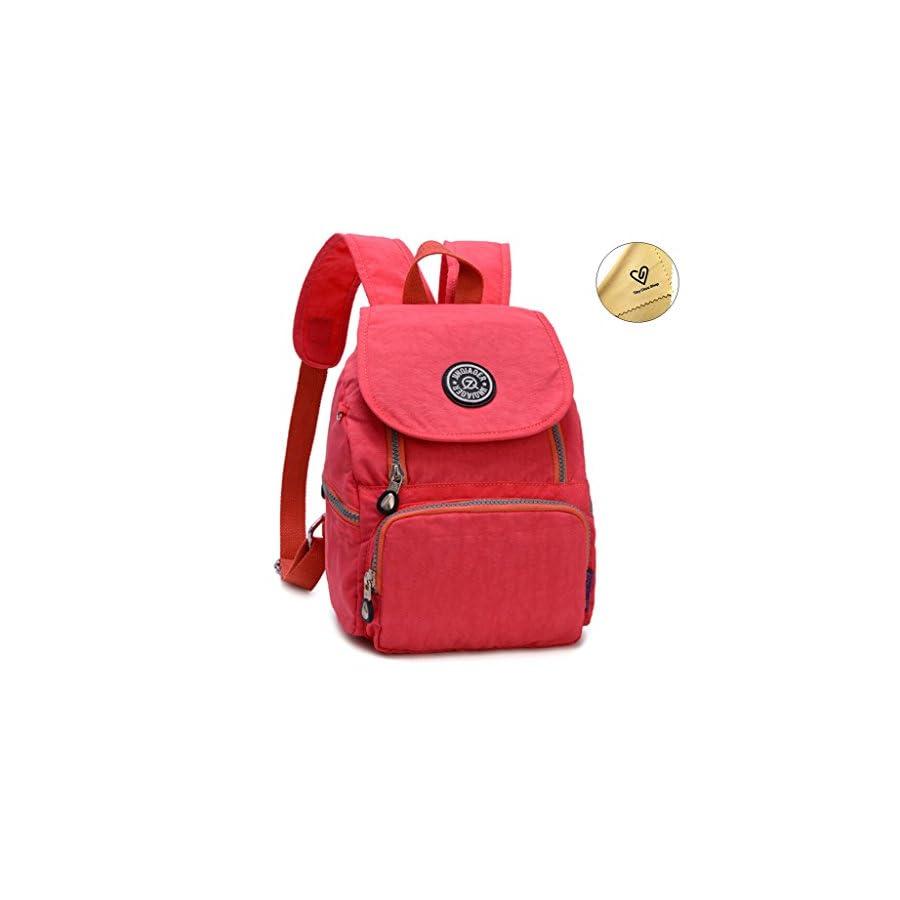 Mini Waterproof Nylon Backpack Purse for Women& Girls Small Lightweight Daypack