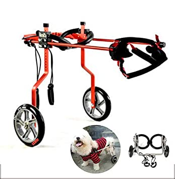 Silla de ruedas para mascotas, discapacidad de extremidades ...