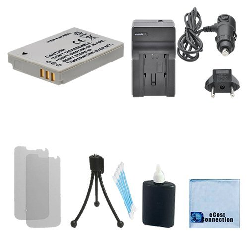 (NB-5L Rechargeable Battery + Car/Home Charger For Canon PowerShot S110, SD700 IS, SD700 IS Digital ELPH, SD790, SD790 IS Digital ELPH, SD800, SD800 IS Digital ELPH, SD850, SD850 IS Digital ELPH, SD870 & More.. Cameras + Complete Starter Kit)