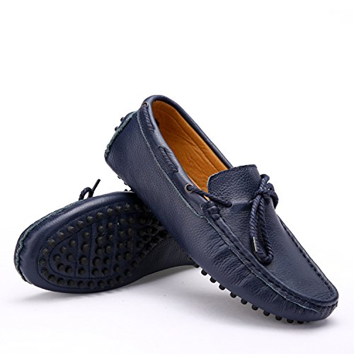 Icegrey Men's Moccasin Boots Blue LODtNCrKX