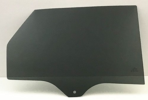 NAGD for 2015 Ford Edge Passenger/Right Side Rear Door Window Replacement Glass Dark Tinted ()