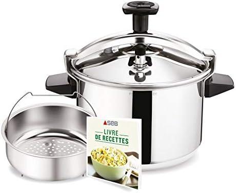تيفال - طنجرة ضغط لطهي الأطعمة والأسطح 10 لتر - P0531634)