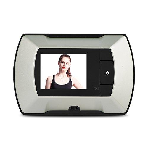 Richer-R Timbre Video Digital para Puerta, Cámara de Vigilancia Pantalla LCD DE 30 megapíxeles y 2.2 Pulgadas,Home Security...