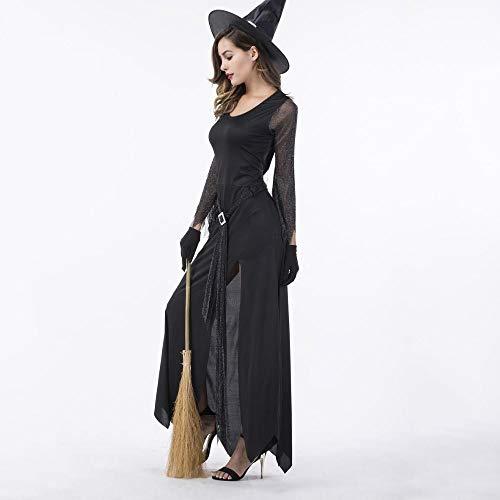Popolare Halloween Cosplay Adulto Streghe Di Olydmsky Strega Femminile Costume Da Donna Costumi M Vestito HzzW8qIZ
