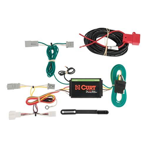 - CURT 56173 Vehicle-Side Custom 4-Pin Trailer Wiring Harness for Select Honda Accord