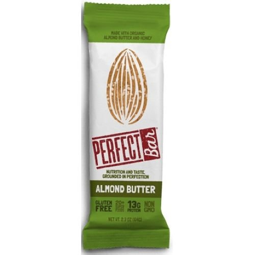 PERFECT FOODS Bar, Almond Butter, 2.29 Ounce (Pack of (Perfect Food Bar)