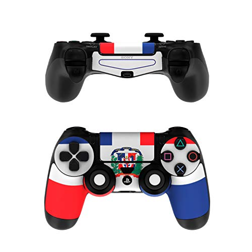 Dominican Republic Flag Decalgirl Skin Sticker Wrap Compatible with Sony PS4 Controller (Controller NOT Included)