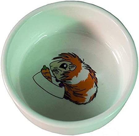 Arquivet 6064 - Comedero ceramica, dibujo hámster, 300 ml, 11 cm, 1 unidad
