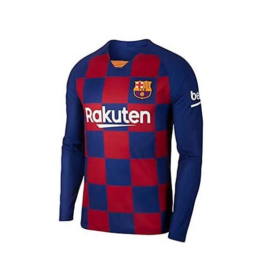 ONBaoFu 2019-2020 Personnalisé Nom et Numéro Football Maillot de Foot T-Shirt Jersey À Manches Longues et Short Unisexe Adulte Enfants Jeunes Hommes Maillot de Football Kits