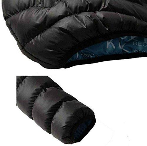 Giacche Uomo Autunno Inverno Caldo Outwear Cappotto Casual Design Solid Wind , Black M