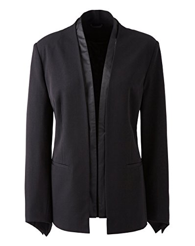 JD Williams Womens Mark Heyes Tuxedo Jacket Length 26in/66cm. Sits Lower Hip. Black