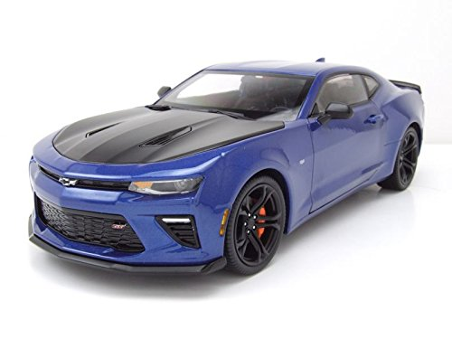 Autoworld AW241 2017 Chevrolet Camaro SS 1LE 50th Anniversary Limited Edition to 1002pc 1/18 Diecast Model Car