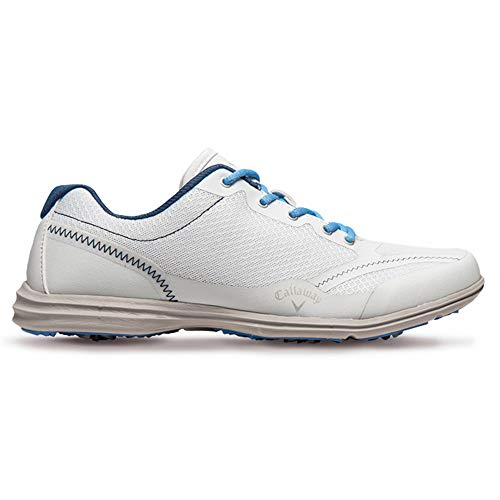 Callaway Footwear Women's Solaire-W White/Navy/Blue 6.5 M US