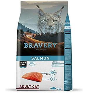 BRAVERY PIENSO para Gatos Adulto Pollo 2 KG Grain Free: Amazon.es ...