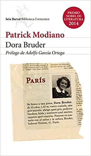 Dora Bruder (Spanish Edition): Patrick Modiano: 9786070724831: Amazon.com: Books