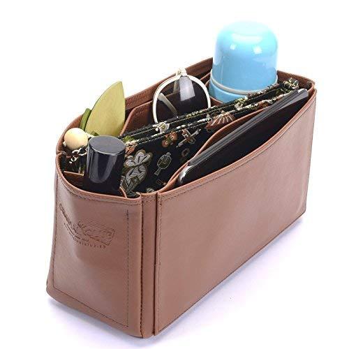 3ac89fd0cf5 Medium Cara Deluxe Leather Handbag Organizer, Leather bag insert for  Mulberry Medium Cara, Express Shipping: Amazon.ca: Handmade
