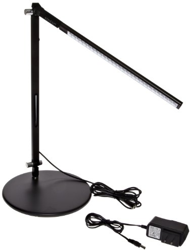 Koncept AR1100-W-MBK-DSK Z-Bar Solo Mini LED Desk Lamp, Warm Light, Metallic Black (Zbar Mini Dsk Solo)