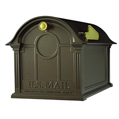Whitehall Products Balmoral Mailbox, Bronze