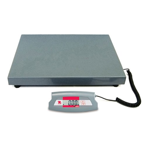 Ohaus Steel SD Economical Shipping Bench Scale, 200kg x 0.1kg, 520mm Length x 400mm Width Platform by Ohaus