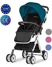 Besrey Cochecito de bebe plegable Carrito de bebe Silla de paseo 6-36 meses Max 15 kg seguridad ECE …