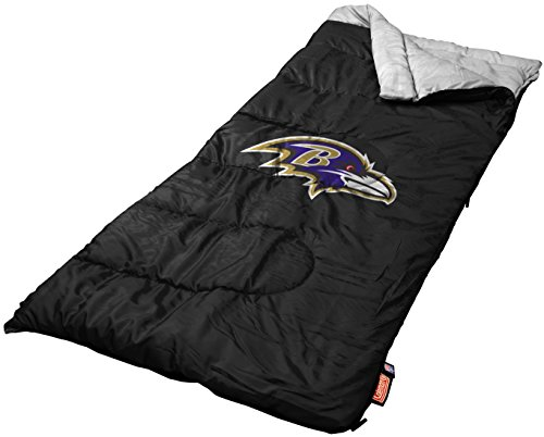 NFL Baltimore Ravens Youth Sleeping Bag (Sleeping Bag Ravens)
