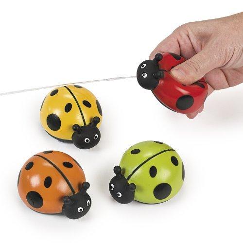 Plastic Ladybug Squirts (1 dz)