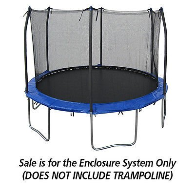 12 Foot Universal Trampoline Safety Enclosure System - Trampoline Net System by Trampoline Pro