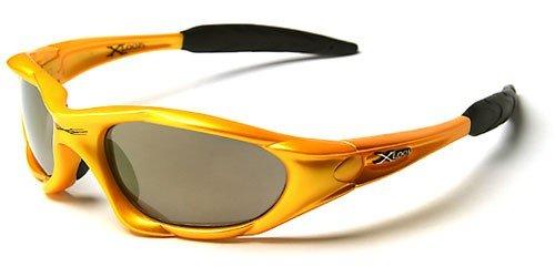 Incluye Deporte Vault de Ciclismo Case X amarillo Gafas Loop Sol Funda 'Extreme' Estuche Esqui 8xqpT6