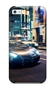 New Design Shatterproof QOsLxAe5102mVILD Case For Iphone 5c (lb Performance Lamborghini Aventador Lp700 4)